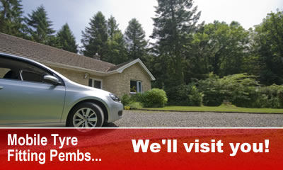 Mobile Tyre Fitting in Pembrokeshire